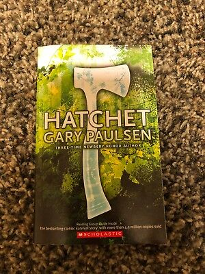 Hatchet by gary paulsen 399 picclick hatchet by gary paulsen new paperback newbery honor book grades 5 8 fandeluxe Image collections