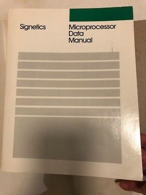 Signetics Microprocessor Data manual 1987