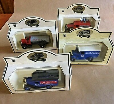 Lledo Commemorative Chevron Die-Cast Metal Trucks - Lot of 4 trucks ~ NIB
