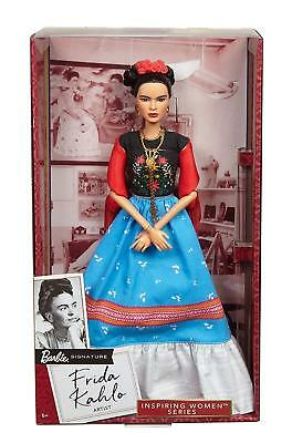 MATTEL Frida Kahlo Barbie Doll Inspiring Women Serie Khalo 2018 Limited Edition