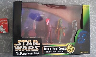 Star Wars - The Power of the Force - Jabba the Hutt's Dancers - 1998