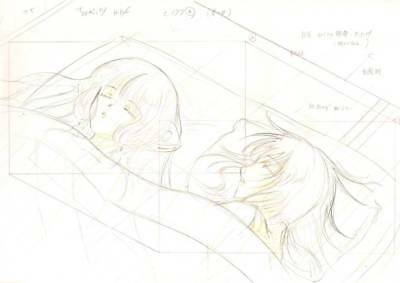Anime Genga not Cel Chobits #101
