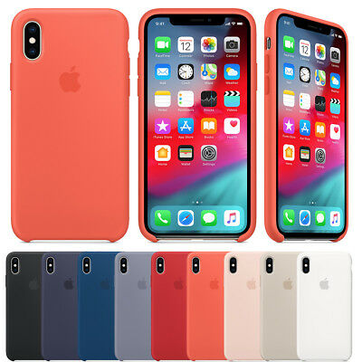 Genuine Original Ultra Thin Silicone Case Cover For Lot Apple iPhone XS Max