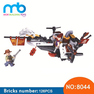 New Arrival World War 2 The Age Of  Steam fighter Building Block Toys