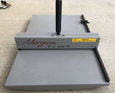 Standard Morgana DocuCrease DC 35 - Great Condition