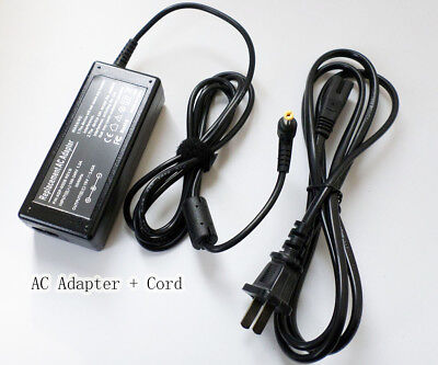 19v 65W laptop AC Adapter For Acer Aspire 5532 5535 Notebook Charger Power Cord