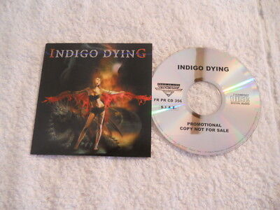 """Indigo Dying """"Same"""" 2007 cd Frontiers Records Promotional NEW"""
