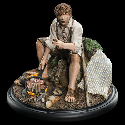 Lord of the Ringe - Samwise Gamgee Mini Statue Weta Neu