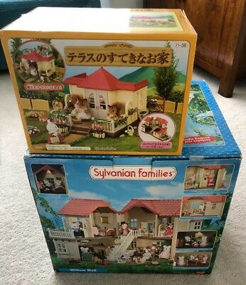 Sylvanian Families Willow Hall and Conservatory - plus many accessories