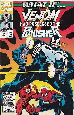 What If Venom Had Possessed The Punisher #44 Vf