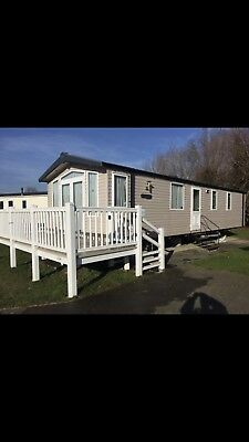 static caravan for sale sited