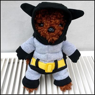 Batman Dog Puppy Costume Outfit