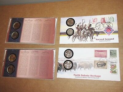 Native America Dollars 1999 and Quarter and nickels ..S-16-10