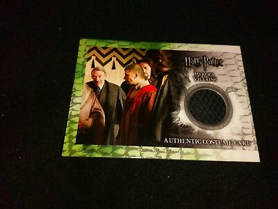 Harry Potter Heroes & Villains C11 (Cedric Diggory) Costume Card