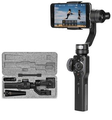 Zhiyun Smooth 4 3-Axis Handheld Gimbal Stabilizer Compatible with iPhoneBRANDNEW