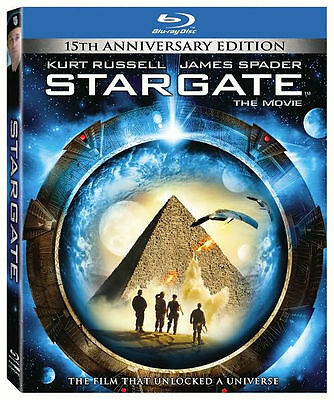 STARGATE (Kurt Russell) 15th anniversary - BLU RAY - Region free - Sealed