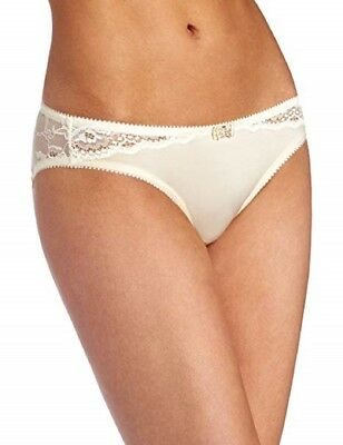 New Hot Milk 'Luminous - Lu Bikini' Maternity Briefs Champagne Large - Bnwt Mb