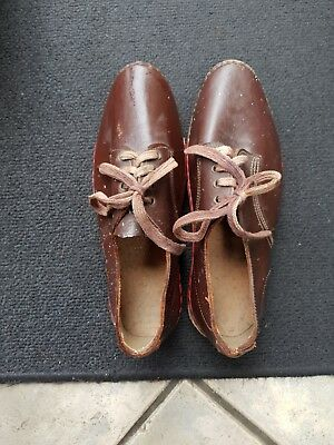Shoes used working man's vintage clogs