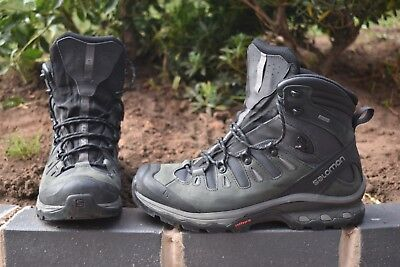 4dc4dc68260 SALOMON QUEST 4D 3 GTX goretex hiking boots Size UK 10.5; backpacking  walking