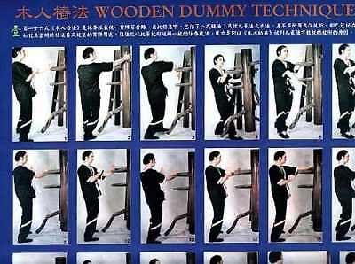 Poster Nr.4 Wooden Dummy Techniques