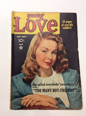 Young Love - Vol.1 No.5 1949 By Crestwood Publishing