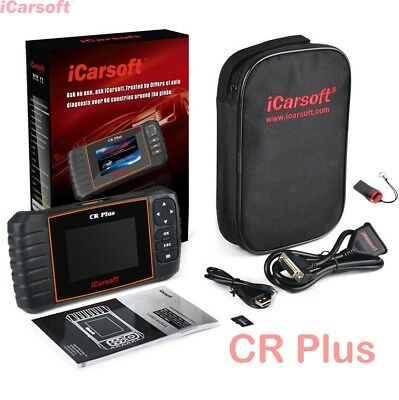iCarsoft CR Plus Universeller Scanner Motor ABS Airbag Getriebe OBD 2 Öl Service