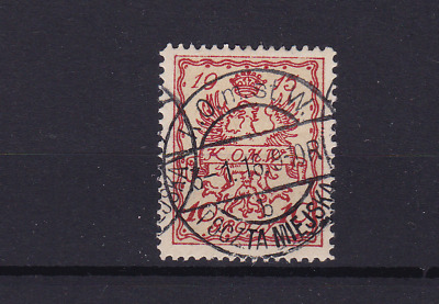 poland warsaw  local post 1915 used stamp  ref r13824