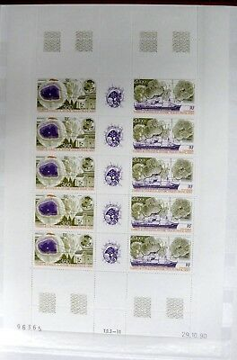 Timbres Taaf : 1991 Yvert Pa N° 117A En Feuille ** Neuf Sans Charniere Tbe