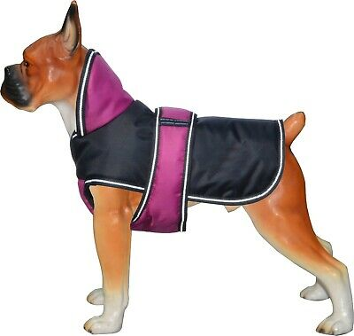 Sale Dog Pet Outdoor Winter Waterproof Rain Coat Jacket Fleece 200GSM Reflective