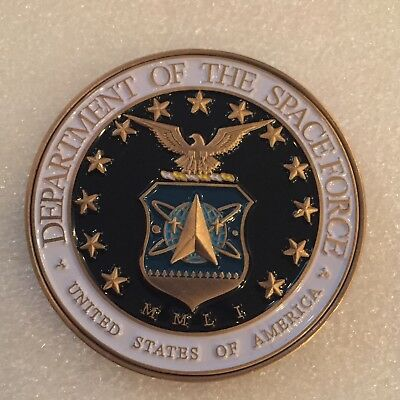 President Trump Department Of Space Force Challenge Coin Not Usss Nypd