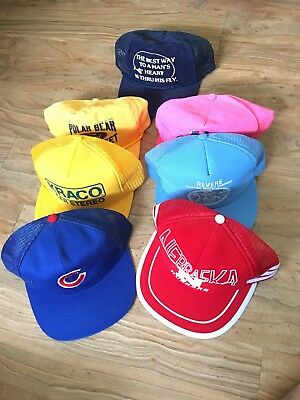 ... shopping lot of vintage snapback hats one size bbd9b 69df4 ... 50b4aa3890b