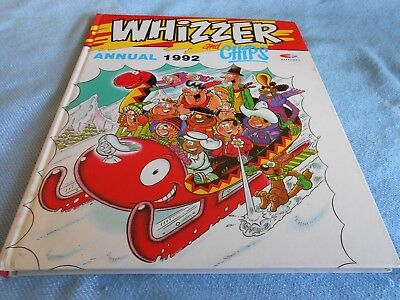 Vintage UK Annual - WHIZZER & CHIPS Annual - 1992