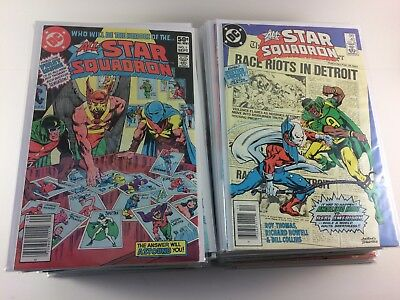 All-Star Squadron #1-67 Annual #1-3 Full Set High Grade Canadian Variants VF/NM