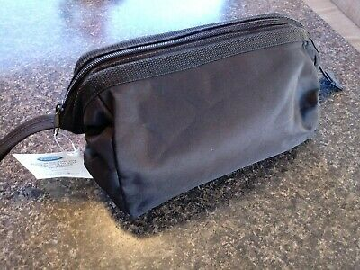 TIMBERLAND MEN S LEATHER Travel Kit Toiletry Bag Dopp Kit Overnight ... 5f1c2a5f04100