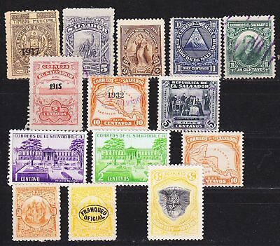 EL SALVADOR [1962] Lot ( **/*/O -  mnh/mh/used )