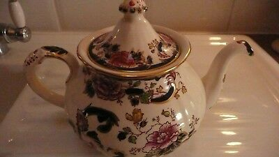 Masons Blue Mandalay Tea Pot,holds 6 Cups,used, But V.g.condition