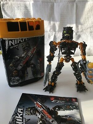 Lego Bionicle 8727 Toa Inika Jaller Complete With Box Instructions