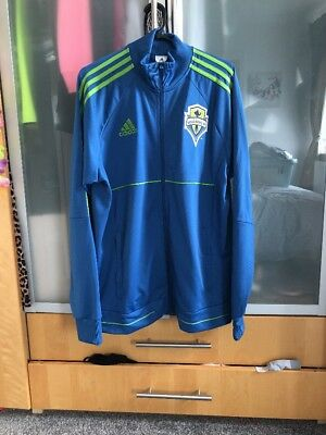 Mens Adidas Seattle Sounders Training Top Size Large