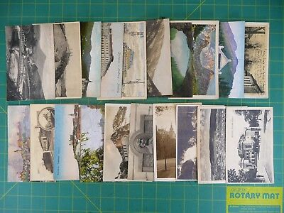 Lot of 20 Vintage Post Cards Various Locations Europe Posted & Unposted 1920s #2