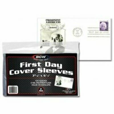 BCW First Day Cover Sleeves