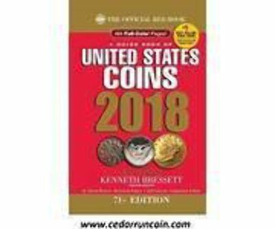 The Official Red Book: A Guide Book of United States Coins 2018 - Hidden Spiral