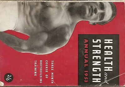 Bodybuilding/health And Strength Annual 1953.