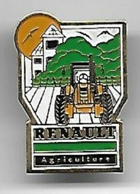 pin's Renault agriculture