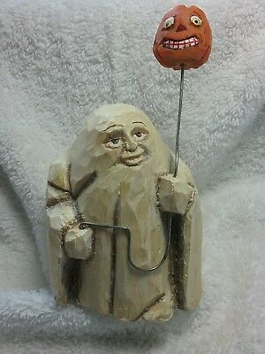 Vintage halloween ghost figurine