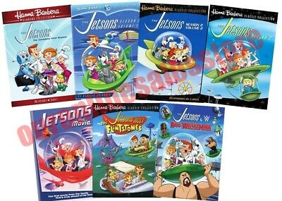 The Jetsons Complete TV Series All Season 1-3 + 3 Film DVD Set Collection Bundle