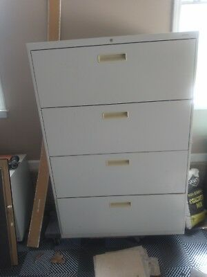 Large 4 Draw File Cabinet