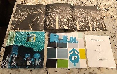 R.E.M. REM 1999 Up Counter Display Michael Stipe Rare NEW NEVER USED PROMO (B-3)