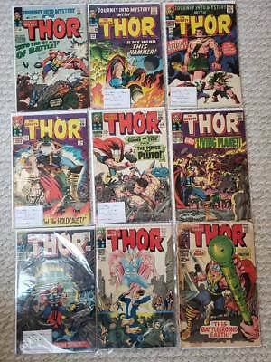 Thor Silver Age issues #117,120,124,127,128,131,133,138,God of Thunder + more!