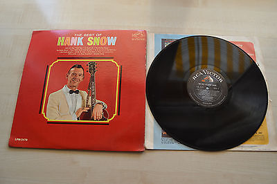 Hank Snow , The Best Of Hank Snow , RCA , USA 1966 , OIS , LPM 3478