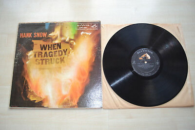 Hank Snow , When Tragedy Struck , RCA Victor , USA 1959   LPM-1861